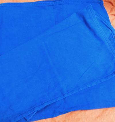 Kék vászon párnahuzat 2db egyben