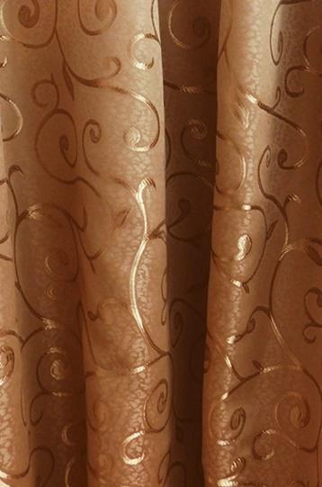 Kész sötétítő függöny Donna őzbarna 160Ex130cm