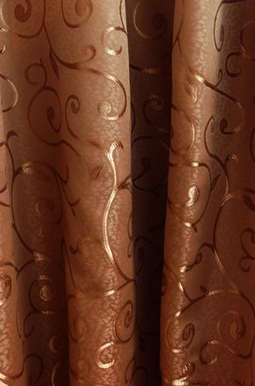 Kész sötétítő függöny Donna őzbarna 180x140cm