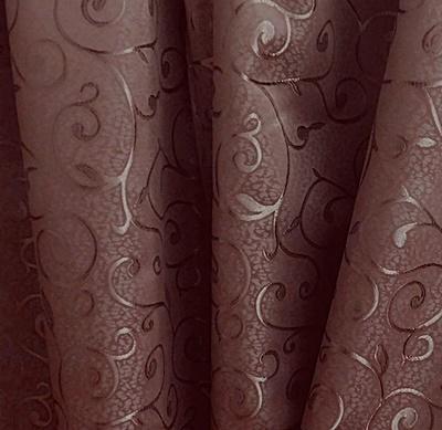 Kész sötétítő függöny Donna sötétbarna 180x180cm