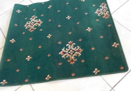 Szennyfogó szőnyeg barna II.O kb:95x100cm