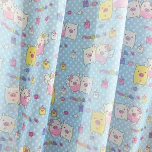 Autó vonat teherautó fényáteresztő gyerek kész függöny kék zöld 150x200cm