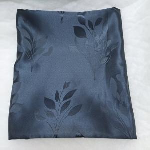 Dekor szatén kész függöny drapp leveles DRHC-806/200