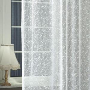 Fehér jaquard kész függöny 715/180x90cm