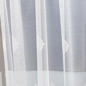 Fehér jaquard kész függöny DR-1929 180x170cm