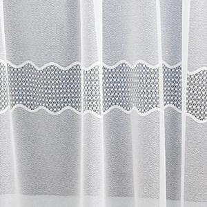 Fehér jaquard kész függöny DR-3207/180x300cm