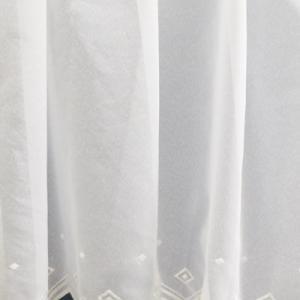 Fehér jaquard vitrage függöny 5603
