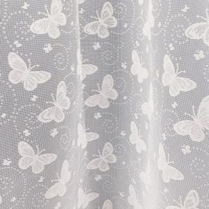 Fehér kész csipke függöny 185