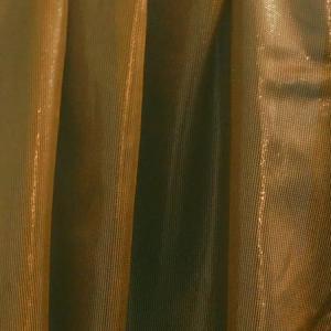 Fehér virágos voila kész függöny lila bordűrös 235x130cm
