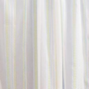 Fehér voila kész függöny piros szürke mintával 180x240cm