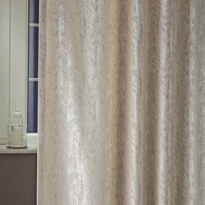 Fehér voila vitrage függöny betűs mintával