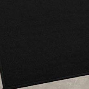 Fekete velúr szőnyeg vastag 130x200cm