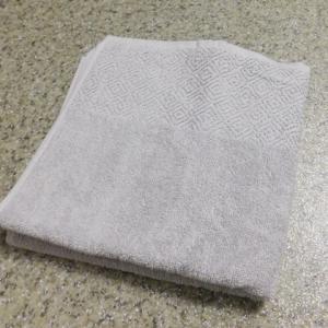 Fürdőszobaszőnyeg pamut mosható csiga drapp