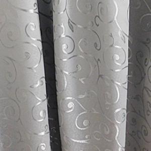 Kész sötétítő függöny Donna szürke 180x140cm