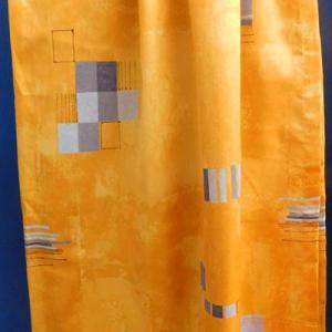 Szürke mintás ablakpárna hengeres kb:34cm körméret, 120 cm hosszú