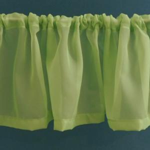 Zöld drapéria 25x150cm
