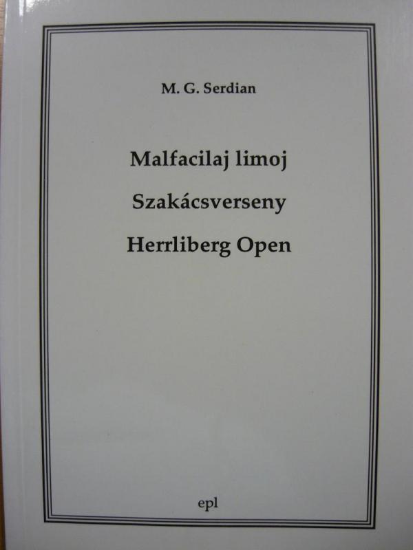 Serdian, M. G.: Malfacilaj limoj