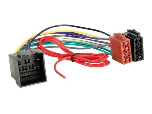 Ford Fiesta, Focus, Transit 2018-tól autórádió ISO csatlakozó adapter kábel 1124-02