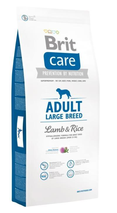 Brit Care Adult Large Breed Lamb&Rice; 12kg