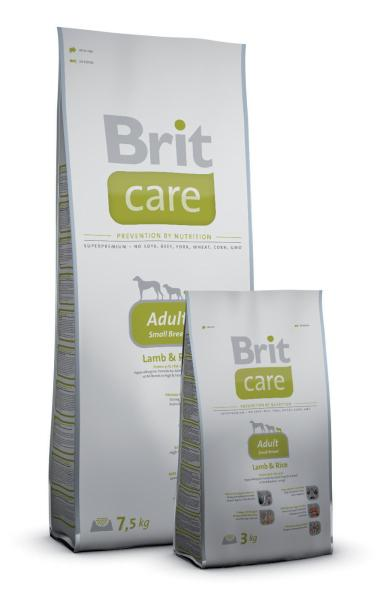 Brit Care Adult Small Breed Lamb&Rice; 7,5kg