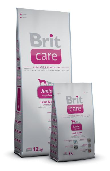 Brit Care Junior Large Breed Lamb&Rice; 12kg
