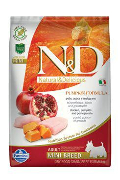 N&D Dog Grain Free Pumpkin Mini Adult 2,5 kg
