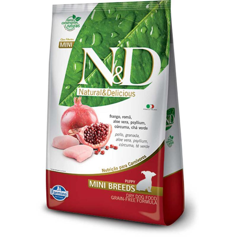 N&D Grain Free Csirke&Gr;ánátalma Adult Dog Mini 2,5kg