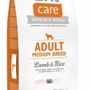Brit Care Adult Medium Breed Lamb&Rice; 12kg
