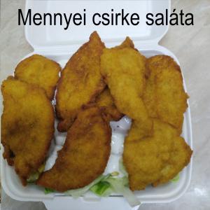 Mennyei csirkés saláta