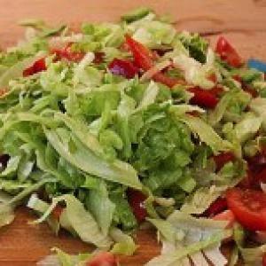 Vegyes saláta keverék