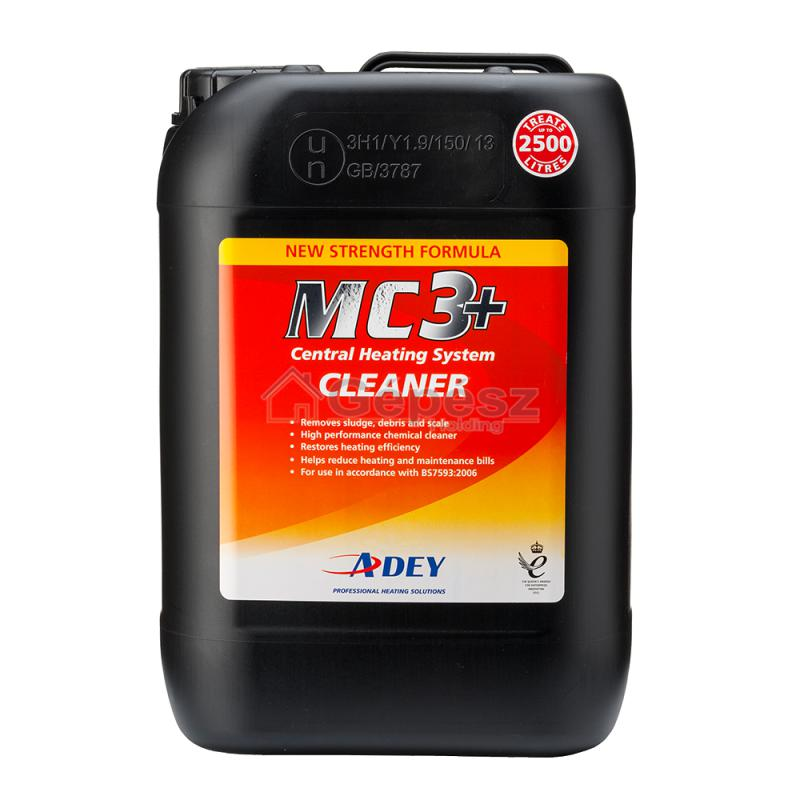 ADEY MC3+ tisztítófolyadék 125l vízhez, 500ml