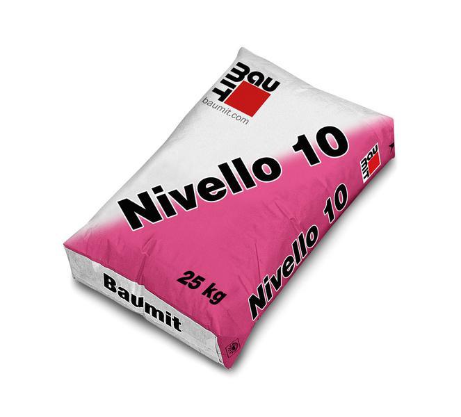 Baumit Nivello 10 aljzatkiegyenlítő raklapos (1-12 mm)