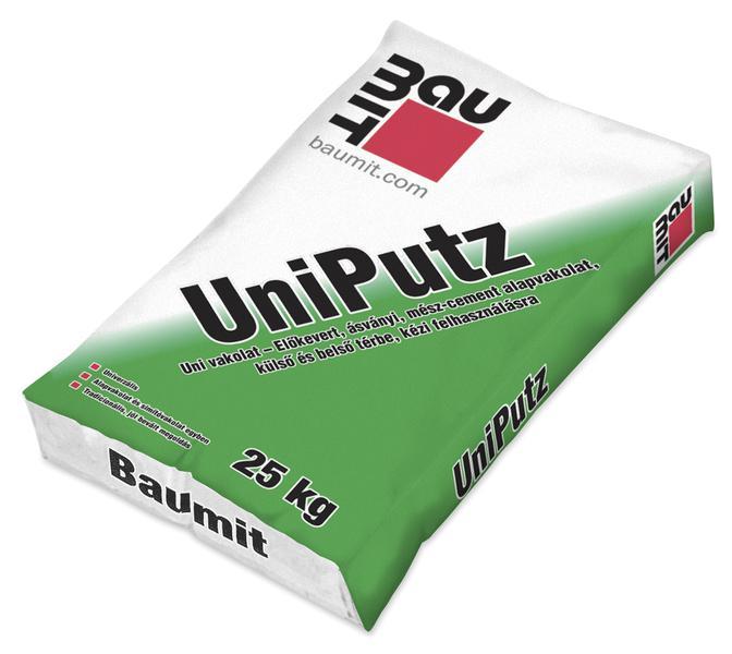 Baumit UniPutz univerzális alapvakolat Raklapos 25kg