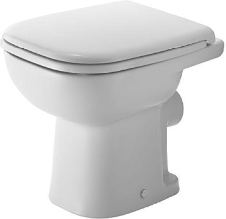 Duravit D-Code álló WC hátsó kifolyású mélyöblítésű (210809)