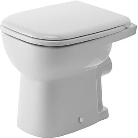 Duravit D-Code álló WC hátsó kifolyású síköblítésű (210909)