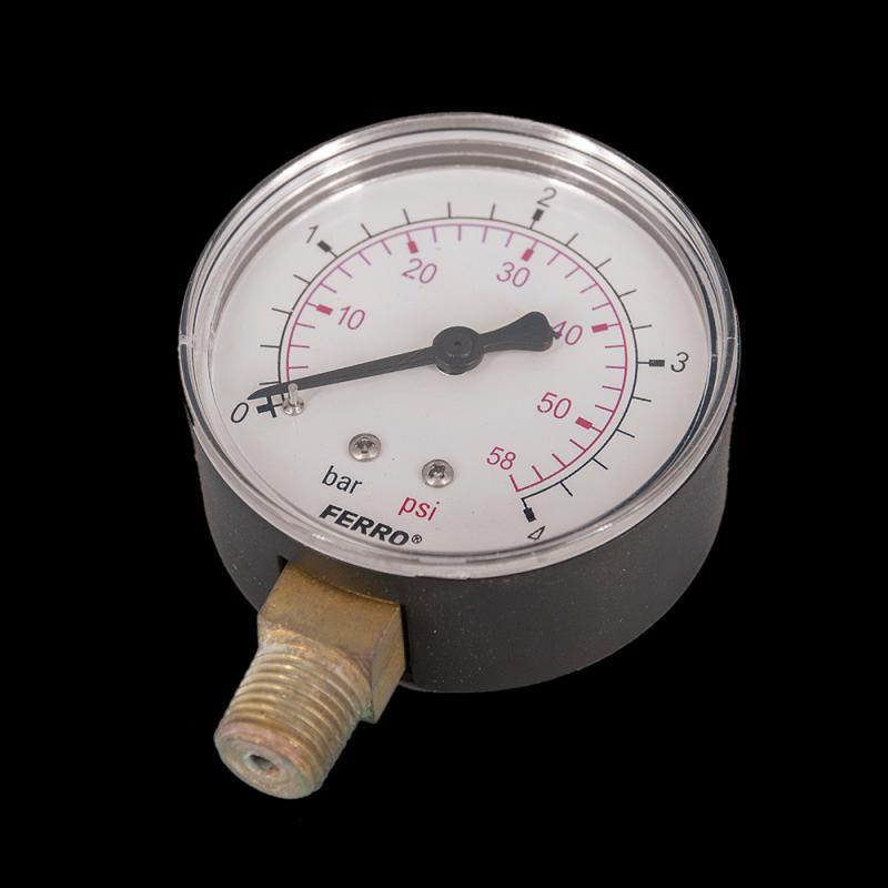 Ferro nyomásmérő alsó csatlakozású 4 bar (M6304R) manométer