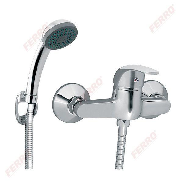 Ferro Vasto fali zuhanycsaptelep zuhanyszettel (BVA77)