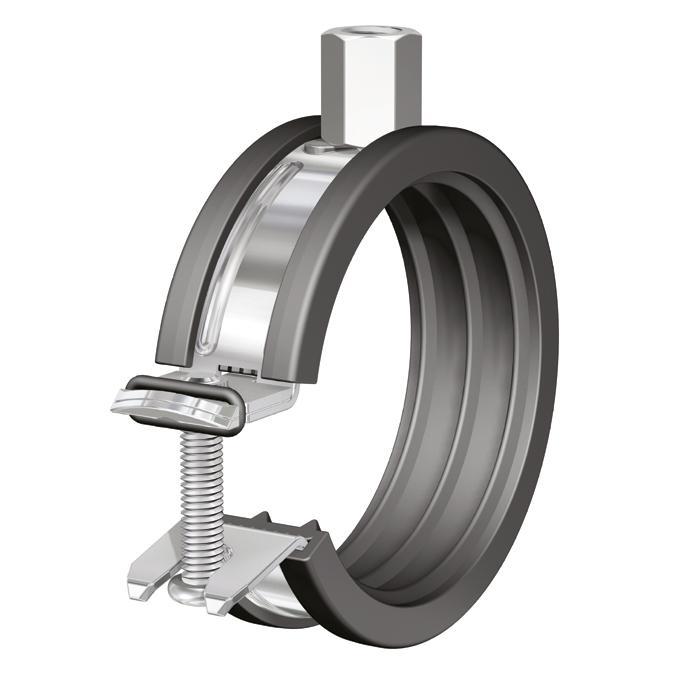 Flamco Clean csőbilincs BSH 1/2-8/10 58 - 61 2'' (38370)
