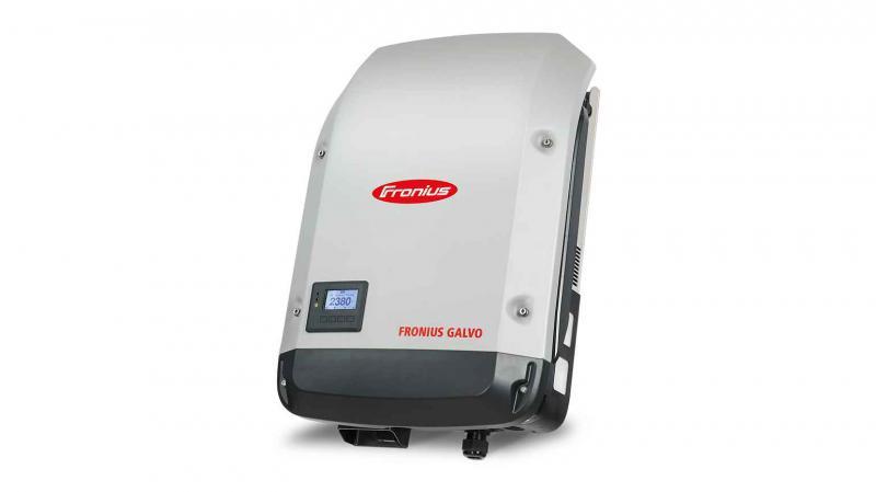 Fronius Galvo 2.0-1 inverter (egyfázisú, Datamanagerrel) 2,0 kW