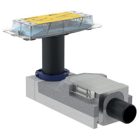 Geberit beépítő alapkészlet CleanLine zuhanyfolyókához 65mm 154.152.00.1