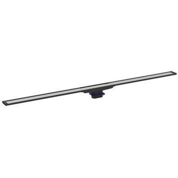 Geberit CleanLine 20 zuhanyfolyóka 30-130 cm, besüllyesztett, fekete/szálcsiszolt (154.451.00.1)