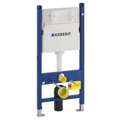 Geberit Duofix Basic (111.153.00.1)falsík alatti szerelőelem beépíthető WC tartállyal Delta nyomó