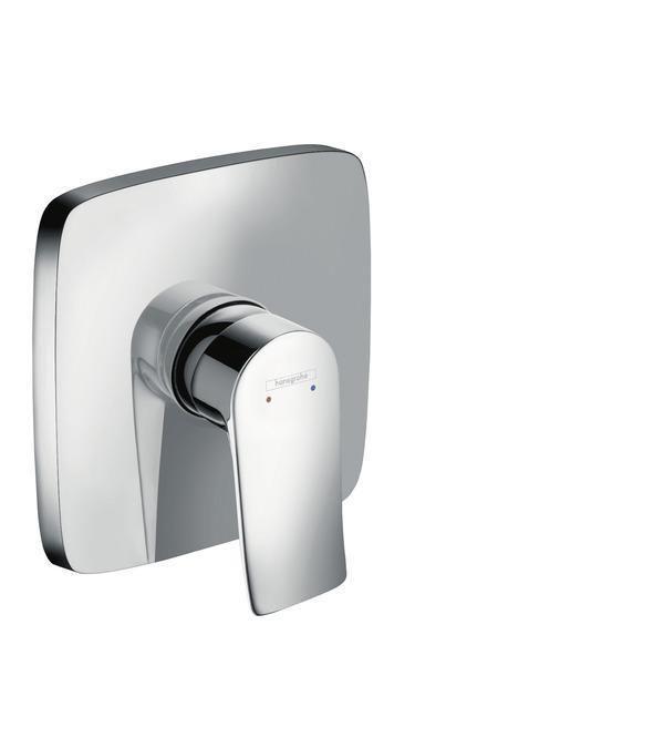 HANSGROHE Metris Falsík alatti egykaros zuhanycsaptelep színkészlet (31456000)
