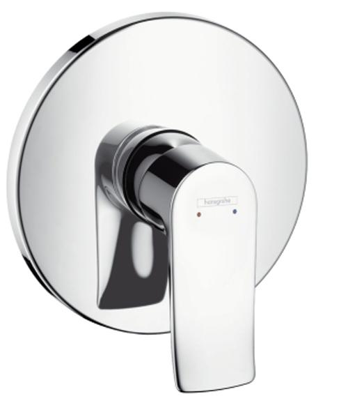 Hansgrohe Metris Falsík alatti egykaros zuhanycsaptelep színkészlet (31685000)