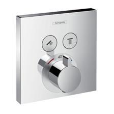 Hansgrohe ShowerSelect falsík alatti termosztátos színkészlet (15763000)