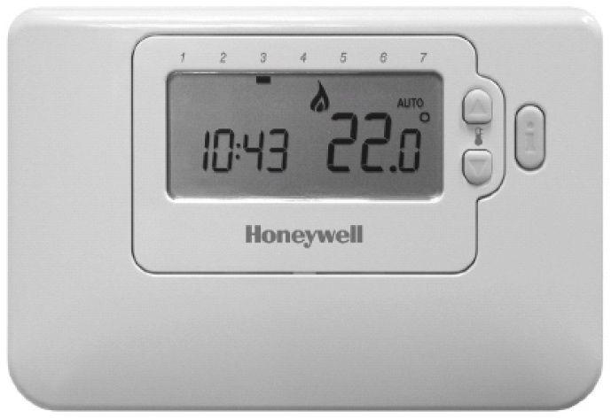 Honeywell CM707 szobatermosztát, prog.
