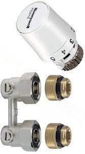 Honeywell radiátor szelep sarok H-idom szett szelepes radiátorokhoz (TL5096EY15RA)