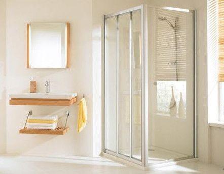 Huppe alpha szögletes zuhany tolóajtó-3  90 cm üveg/matt