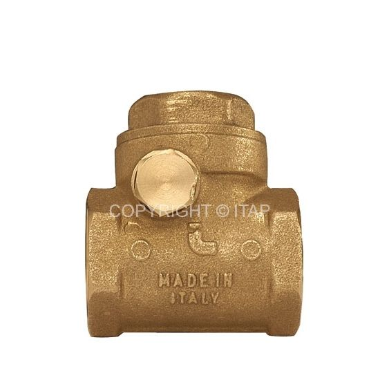 Itap 1/2'' DN15 12 bar Visszacsapószelep lengő NBR gumizárású
