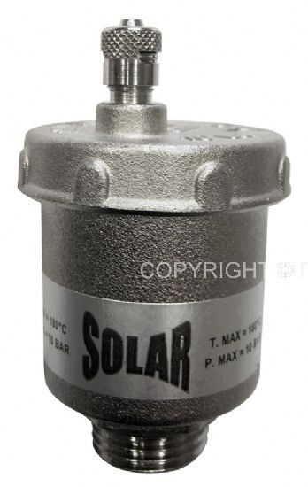Itap 3/8'' DN10 10 bar Légtelenítő Solar